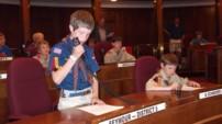 Boy Scouts Use Toms Desk