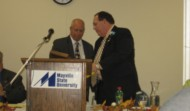 Tom's Distinguised Alumni Award – Mayville / Bob Thorsness Presenter