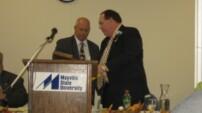 Tom's Distinguised Alumni Award – Mayville / Bob Thorsness Presenter