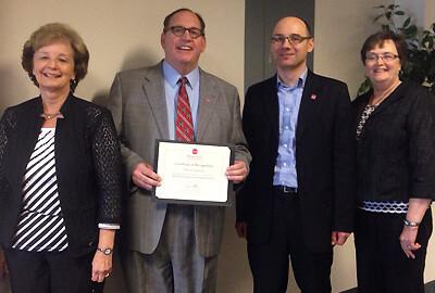 MSU Regents Service Award